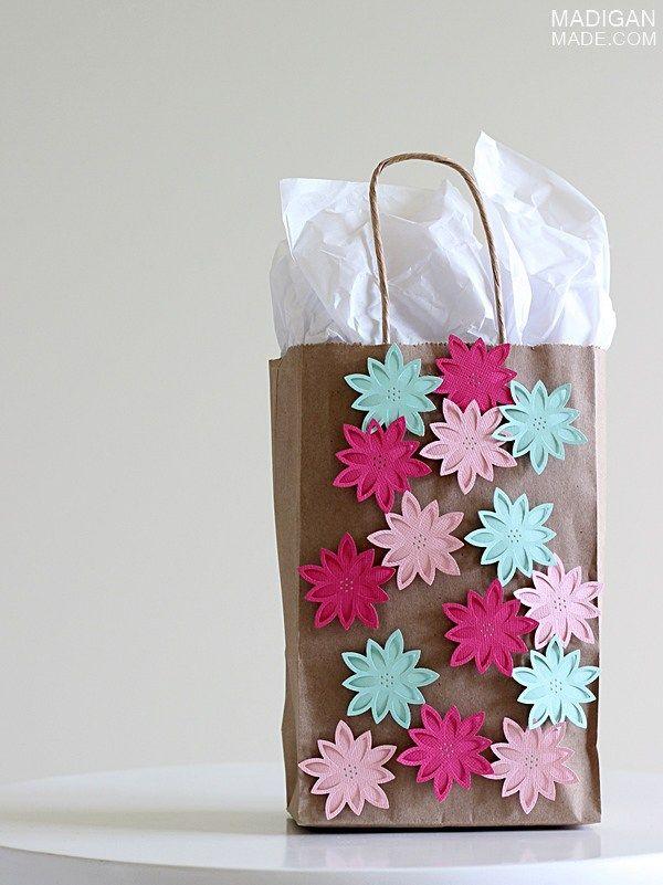 Diy Gift Bag Craft Idea Diy Decorate Gift Bag Decorated Gift