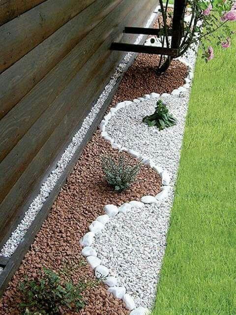 Nice rock effect jardin Pinterest Jardins, Extérieur et Déco