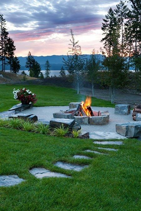 Lakeside Collection Patio Furniture: Firepit/Lakeside Retreat By Ciao
