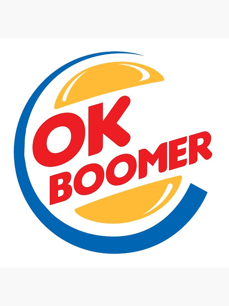 ok boomer Burger King Coasters (Set of 4) in 2020