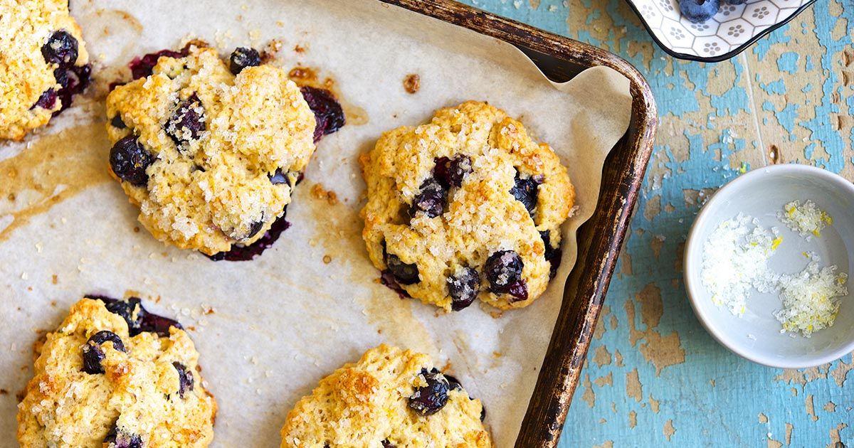 Blueberry Scones Recipe Tea Scones Recipe Blueberry Scones Recipe Food Recipes