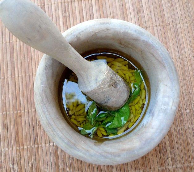 Salsa Pesto, receta Original e ingredientes
