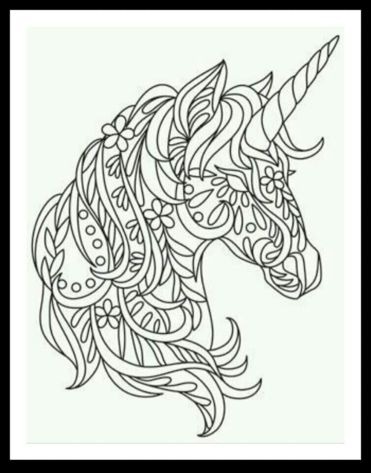 Pin By Heather Robinson On Coloring Unicorn Coloring Pages