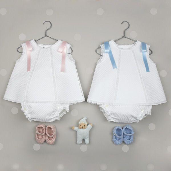 d804cd016 faldones-pique-blanco Vestidos Para Niñas Pequeñas