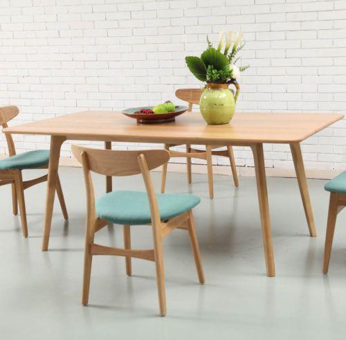 Danish-Magnus-Scandinavian-180cm-Dining-Table-Solid-American-Oak-Wood-6-Seater