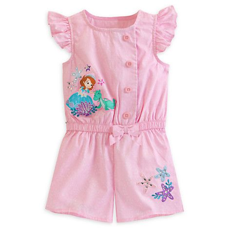 Sofia Woven Romper for Girls