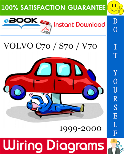 Volvo C70 S70 V70 Wiring Diagrams 1999 2000 Download In 2020 Repair Manuals Volvo Repair