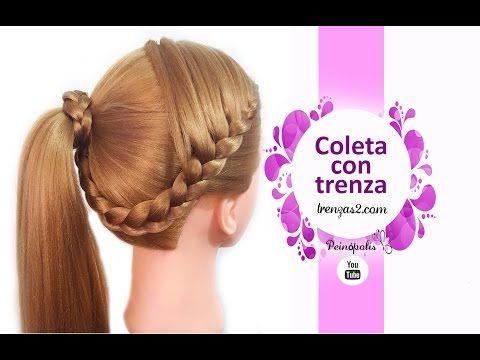 Trenza Arcoíris Peinado Facil Para Escuela Peinado Para Niñas Rainbow Braid Trenzas De Lado Faciles Trenzas Para El Cabello Peinados Faciles Y Rapidos