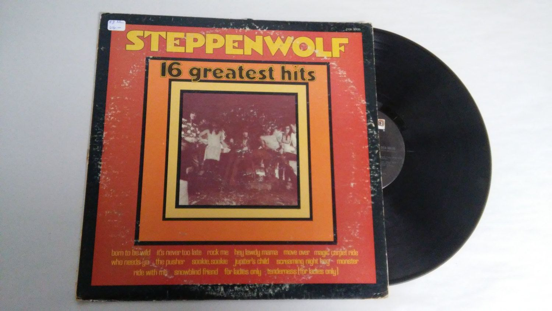Steppenwolf DSX-50135 16 Greatest Hits Rock Music lp 33 records Touch My Vinyl lps 33s record album albums vintage vinyls