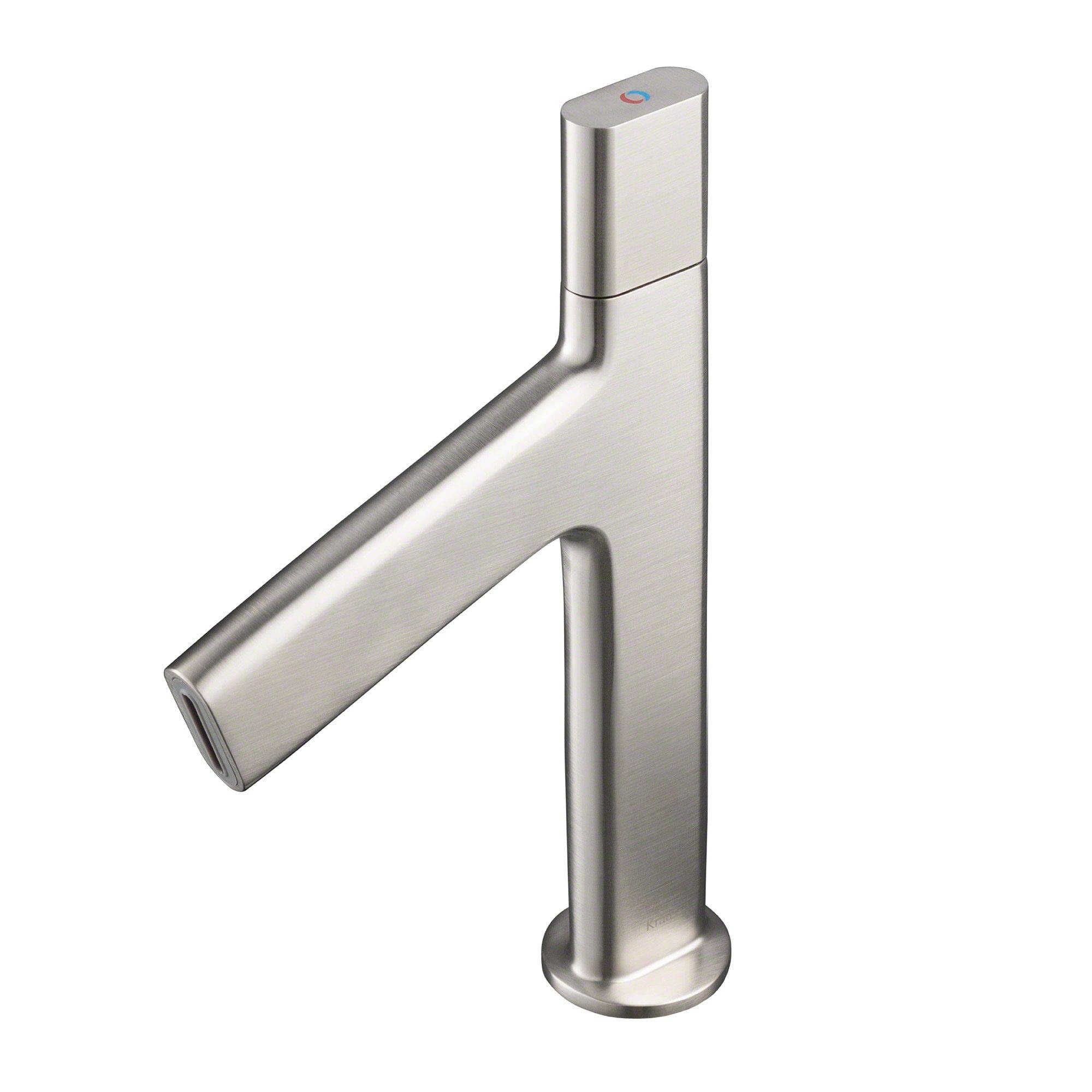 Kraus Ino™ Basin Single Handle Bathroom Faucet with Custom Laminar ...