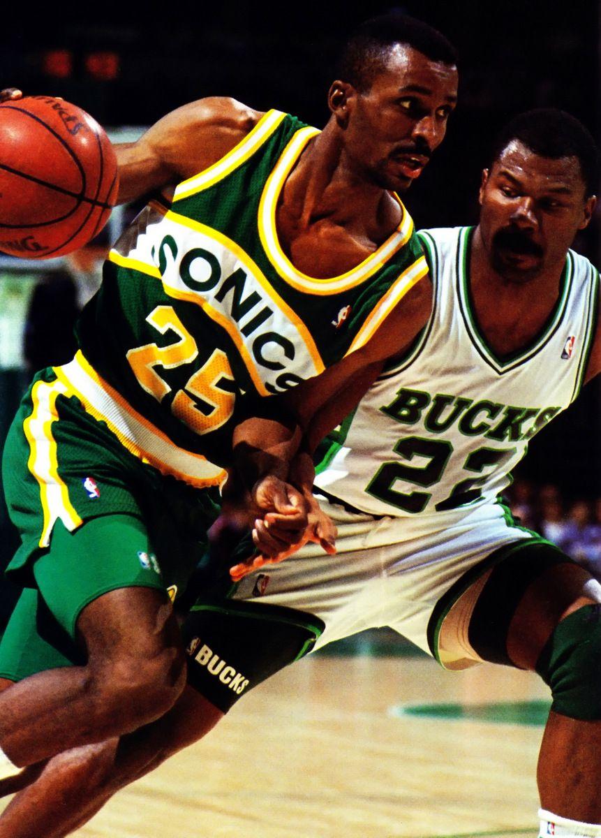 Ed Johnson & Ricky Pierce Rare NBA s