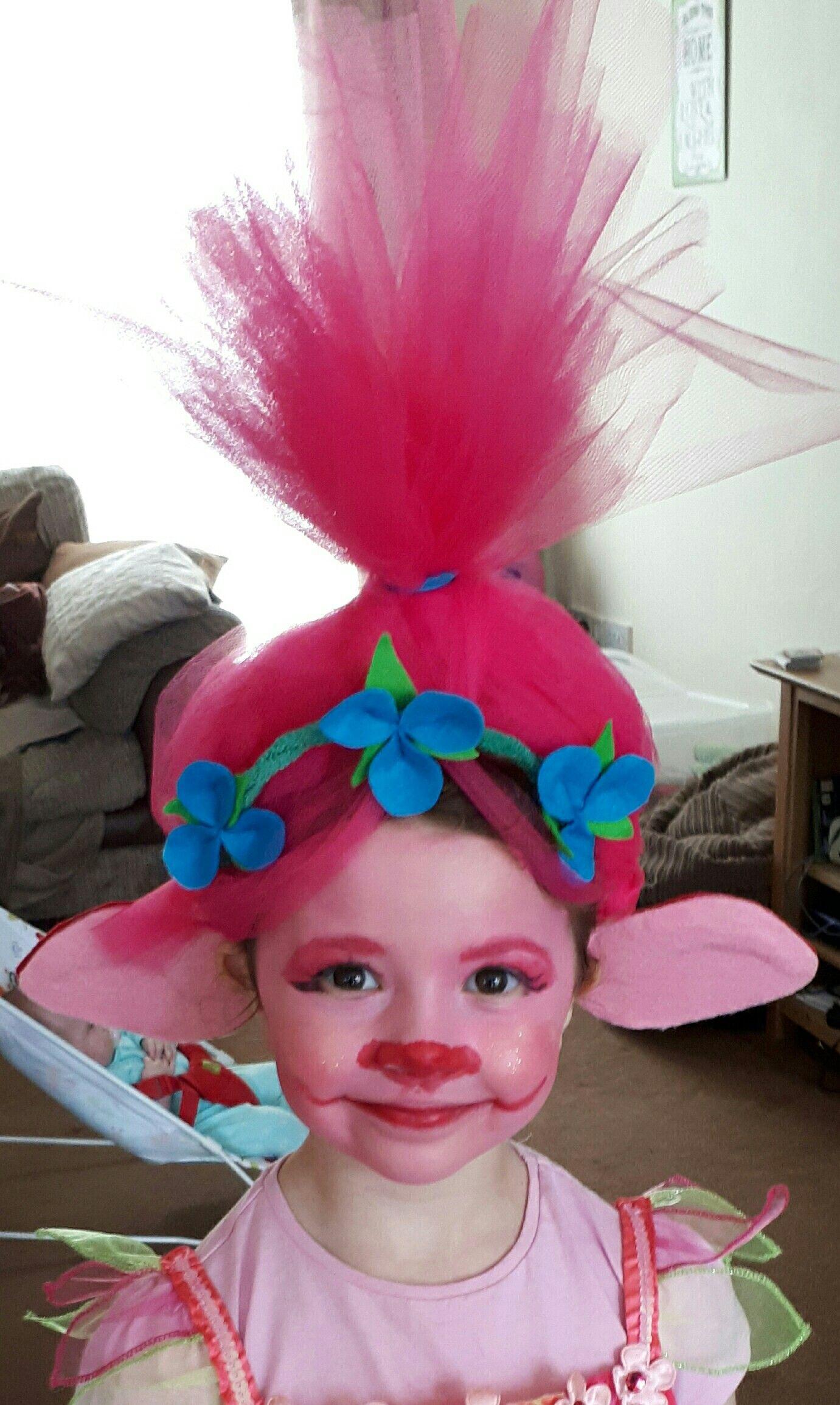 diy princess poppy headband