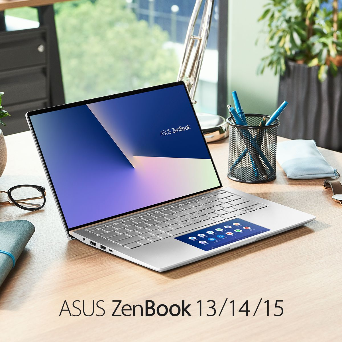 Asus Zenbook 13 14 15 Creativity Style Innovation Asus Ultrabook Interactive Display