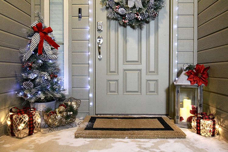 3 Steps To Outdoor Christmas Decorating The Home Depot Blog Home Depot Christmas Decorations Outdoor Christmas Outdoor Christmas Decorations