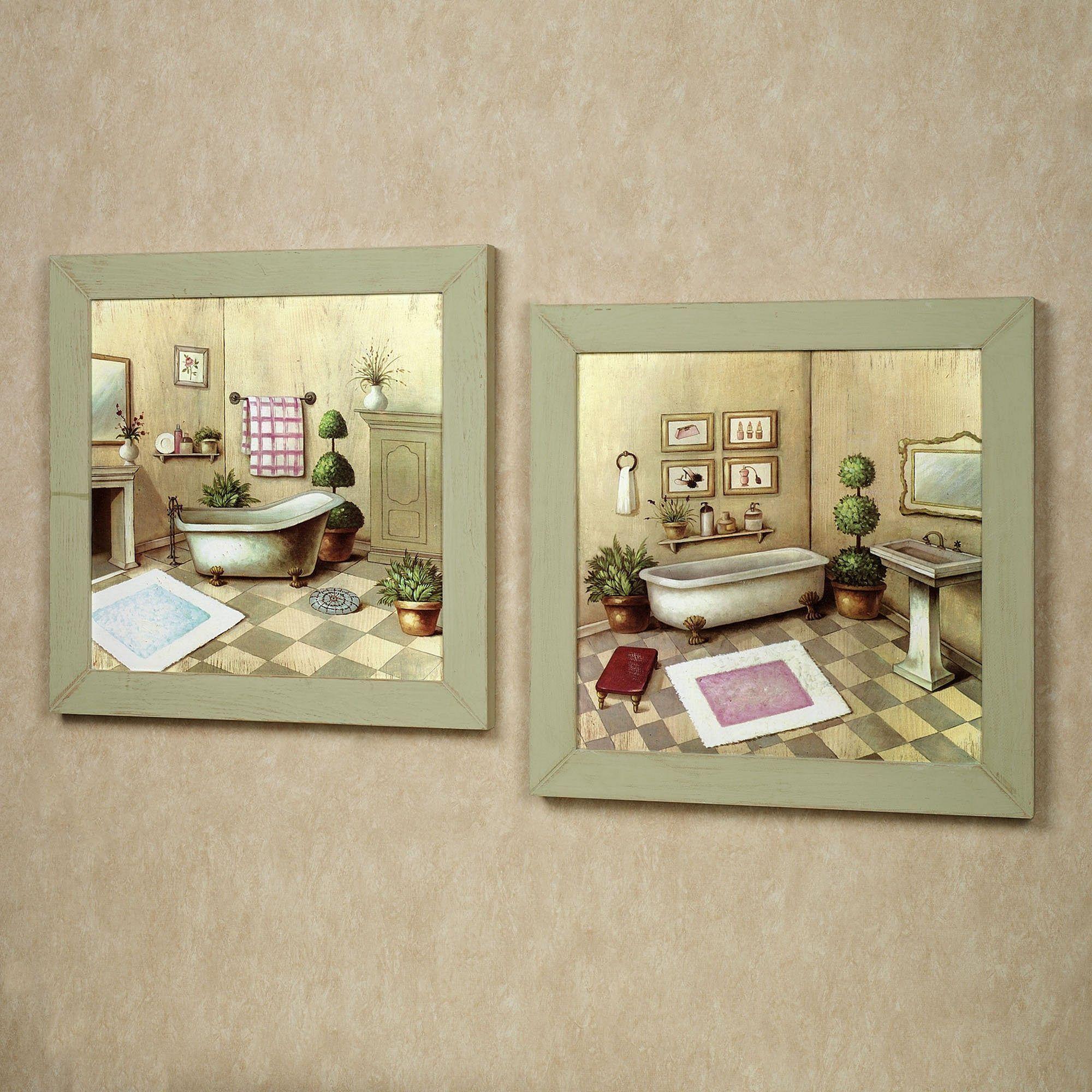 Inspiring Top 20 Elegant Bathroom Wall Decor For Cozy Bathroom