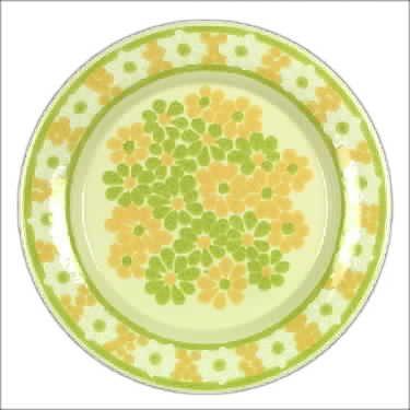 franciscan china patterns | Franciscan China Picnic China Dinnerware ...