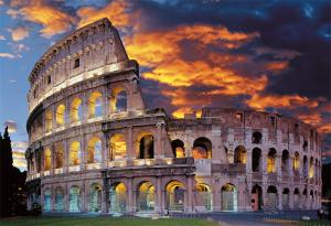 Comprar Puzzle Trefl El Coliseo De Roma De 1500 Piezas Pz 1058196bo Coliseo De Roma Roma Coliseo
