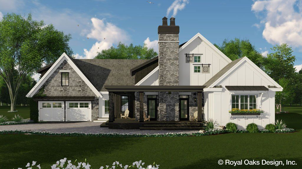 Deer Cove Farm House Plan 8 Bond Sets