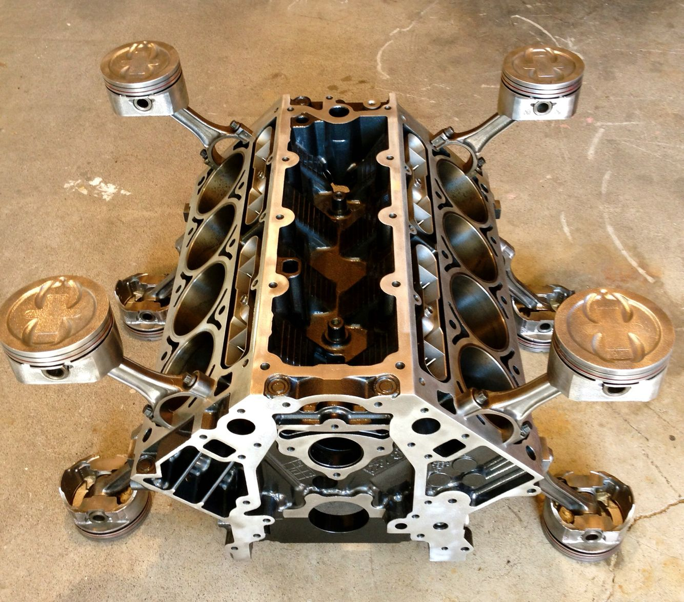 LS1 Corvette Coffee Table WwwBadassbloxCom Engine Block Tables