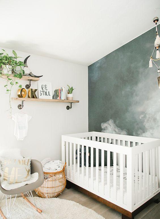 Habitaciones modernas para bebés | Pinterest | Cuartos para bebes ...
