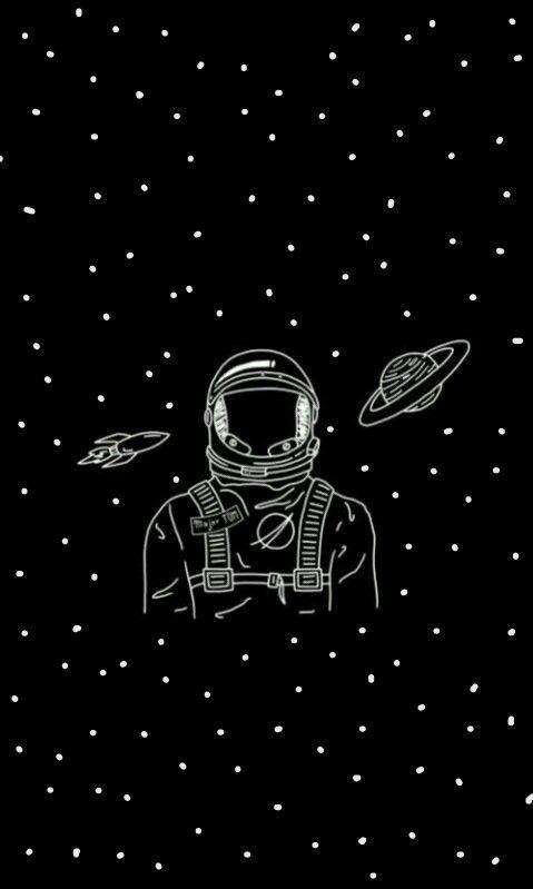 Sketches Deep WallpaperWallpaper SpaceWallpaper BackgroundsBlack Wallpapers TumblrIphone