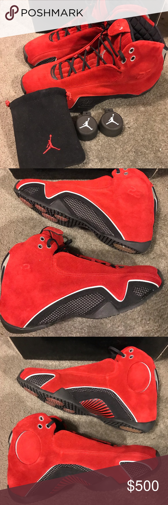 3a4aced66b07ce Spotted while shopping on Poshmark  Air Jordan XXI 21 Red Suede Size 13!   poshmark  fashion  shopping  style  Jordan  Other