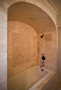 Bath With Arched Ceiling Bathroom Gorgeous Laundry Room