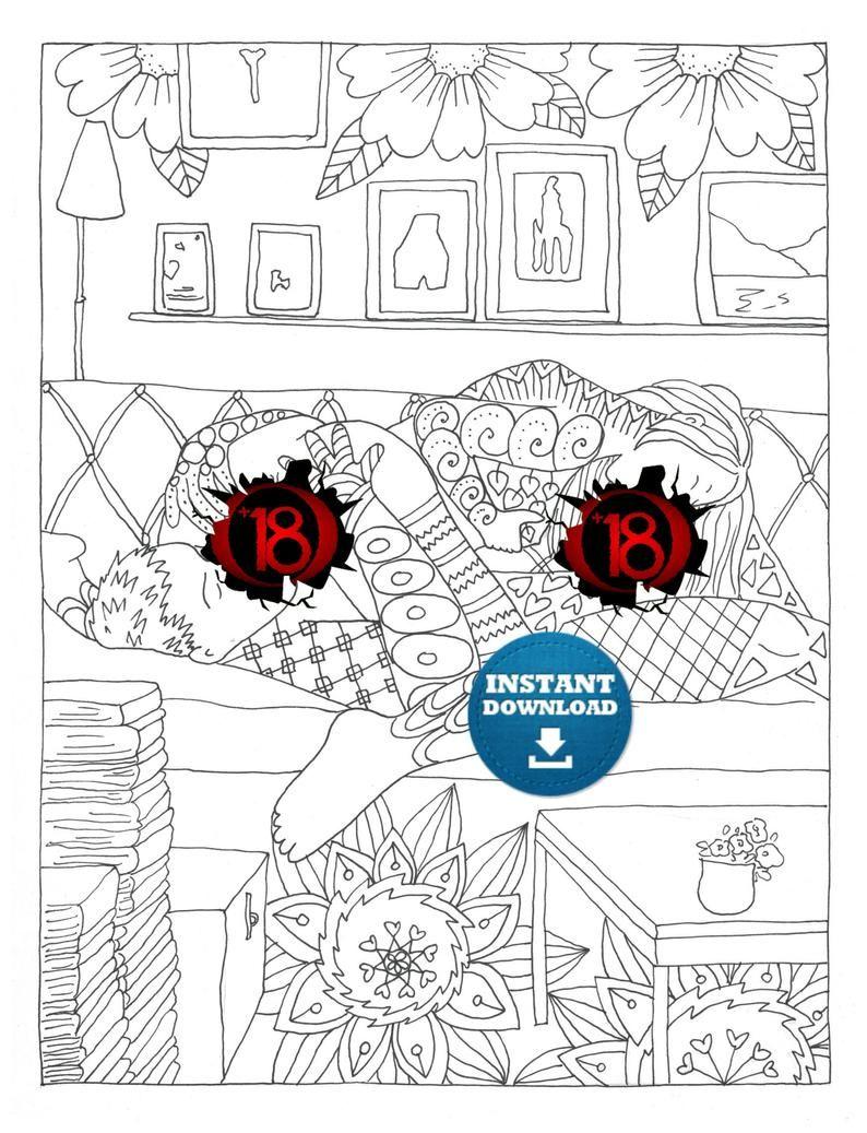 X Rated Coloring Books : rated, coloring, books, Adult, Coloring, Books