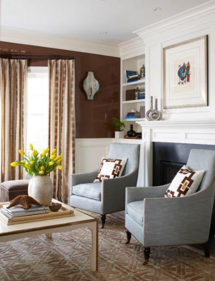 Nice Cozy Color Duo: Brown U0026 Blue Nice Ideas
