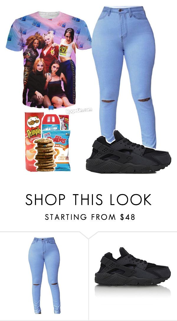 """."" by candyyumyum5 ❤ liked on Polyvore featuring NIKE"