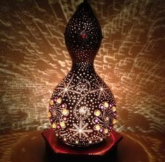 Gourd Lamp gourd lamps decoration with modern design | gourd | pinterest