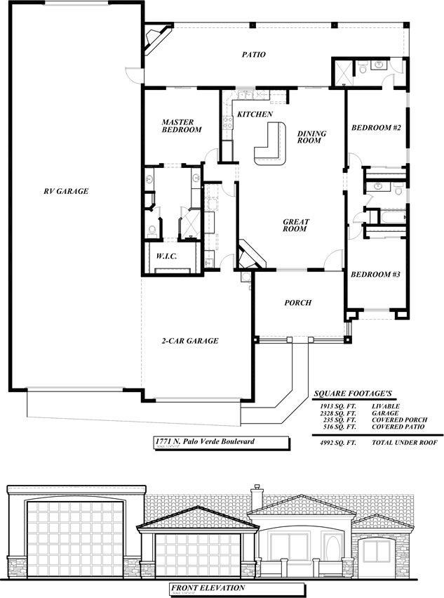 Sunset Homes Of Arizona Home Floor Plans Custom Home