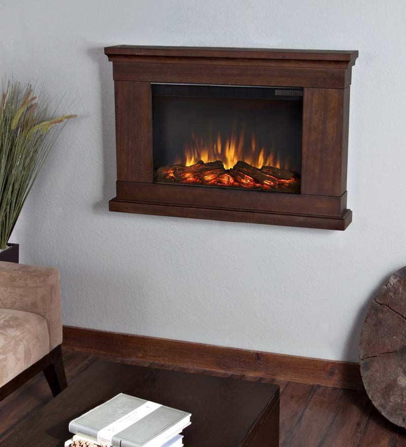 Jackson Slim Electric Wall Mount Fireplace Imagine This At The