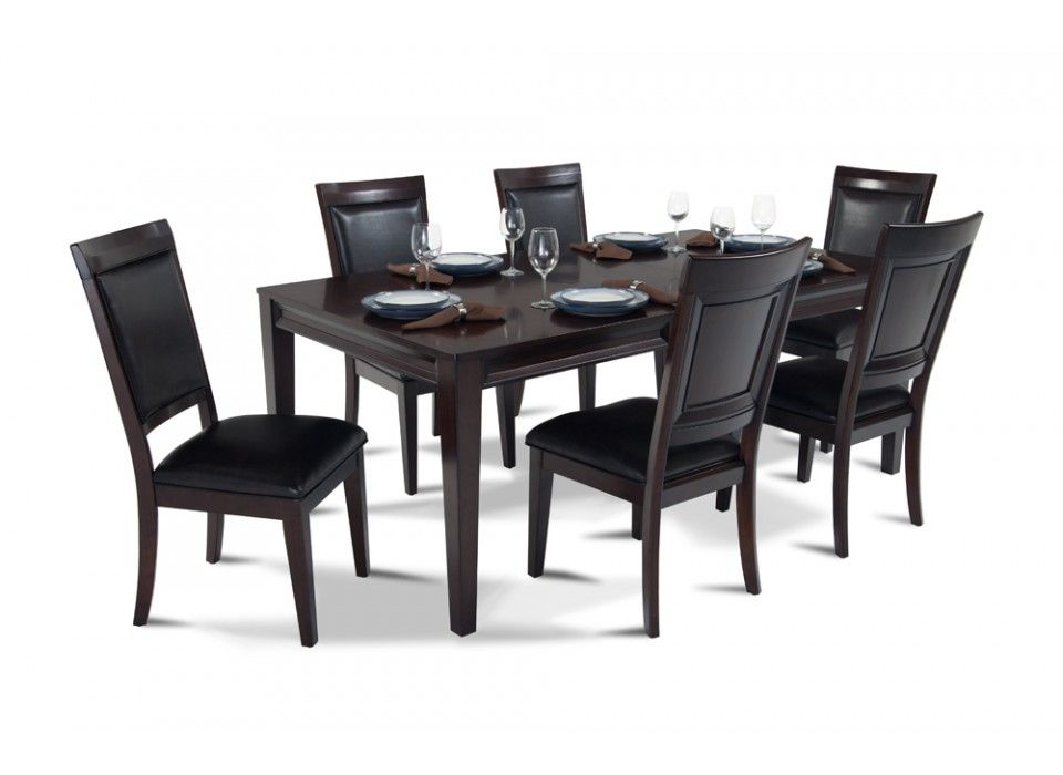 Matrix 7 Piece Dining Set  Dining Sets Side Chair And Dining Awesome Funky Dining Room Table And Chairs Design Ideas