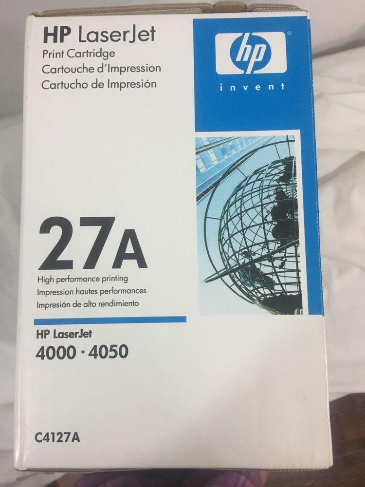 HP C4127A Toner Cartridge 27A  GENUINE NEW