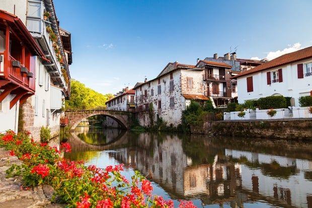 Les plus beaux villages de france saint jean pied de port pyr n es atlantiques voyage - Sud ouest saint jean pied de port ...