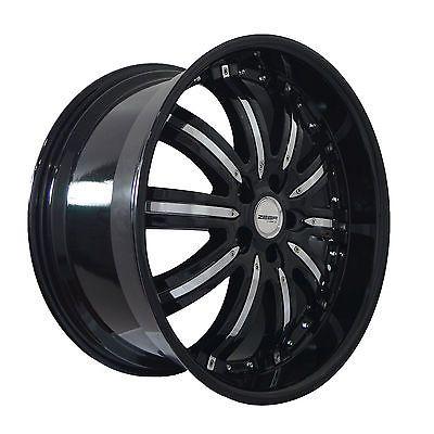 4 Gwg Wheels 20 Inch Black Chrome Narsis Rims Fits Lexus Gs 450h 2007 2017 20 Inch Rims Rims Buick Regal Gs