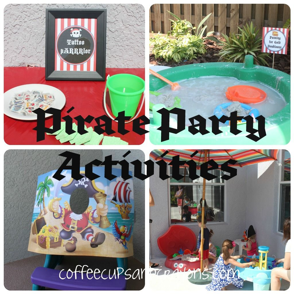 Ideen Party Pirate Party Ideas Geburtstag Piraten Party Ideen