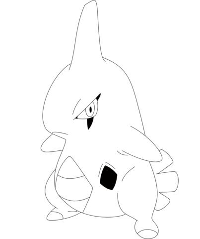 Click To See Printable Version Of Larvitar Coloring Page Pokemon Coloring Pages Pokemon Coloring Pokemon Drawings