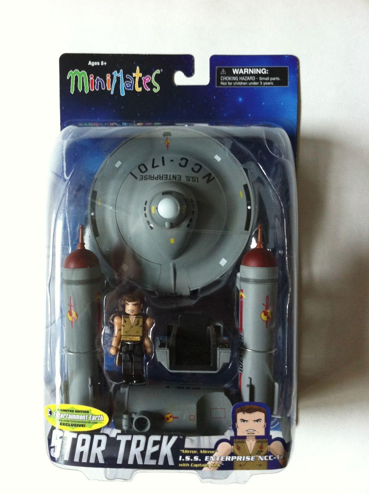 Minimates Star Trek Mirror Mirror Universe Enterprise Limited Edition of 1,000