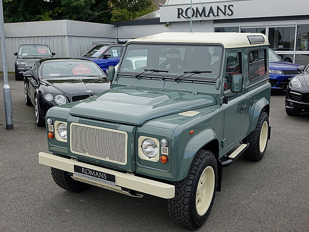 Land rover defender 90 td4 sw retro edition t60 twisted just incredible