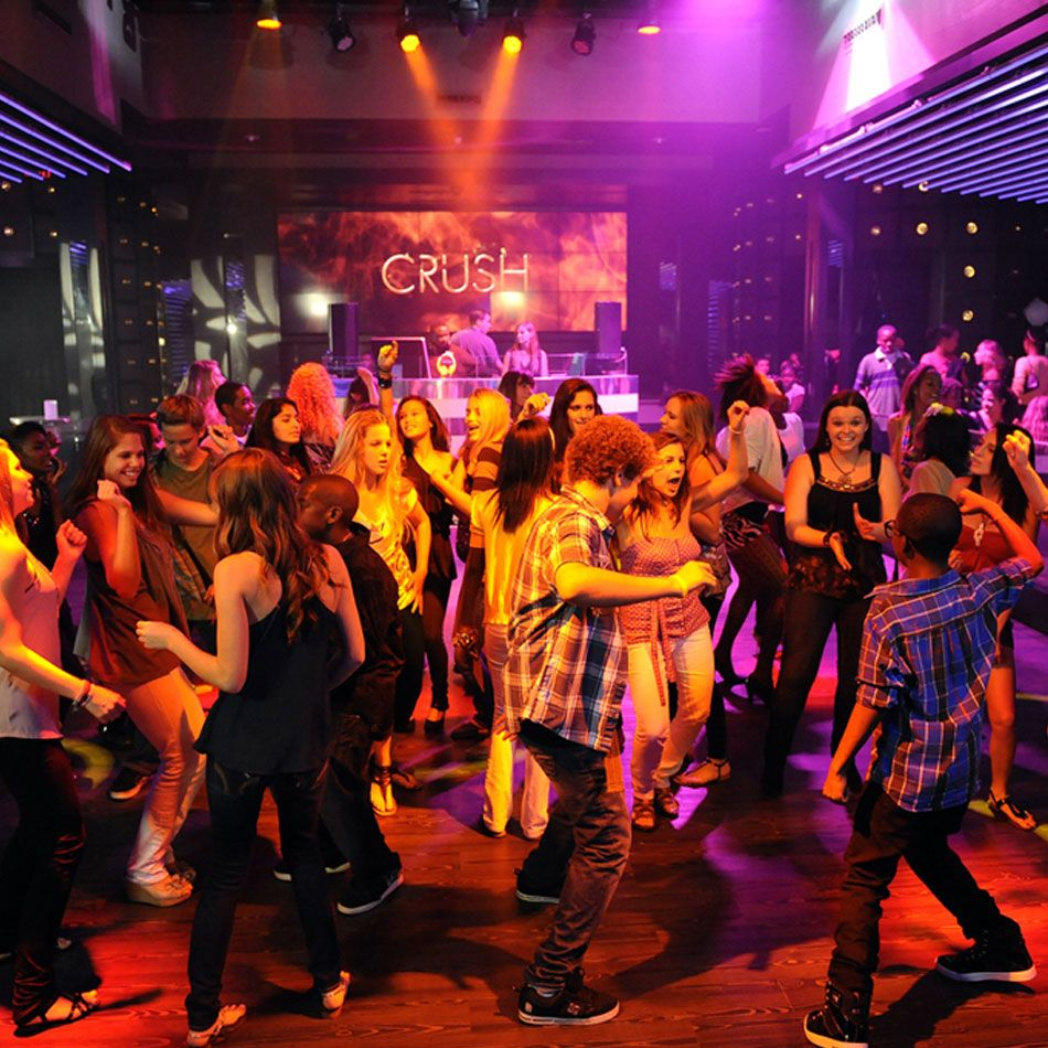 Spot teen club take