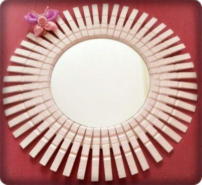 Mart: Καθρέφτης με μανταλάκια Clothes Pins