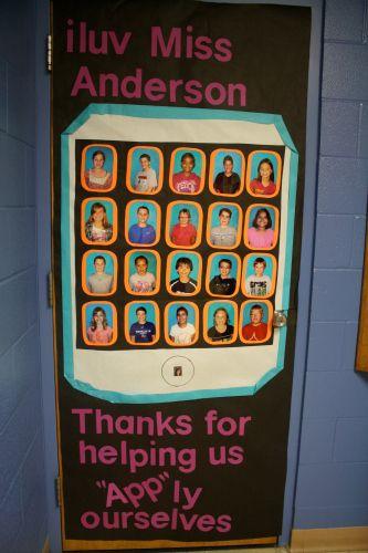 Teacher Appreciation Week Door Decoration Idea Teacher