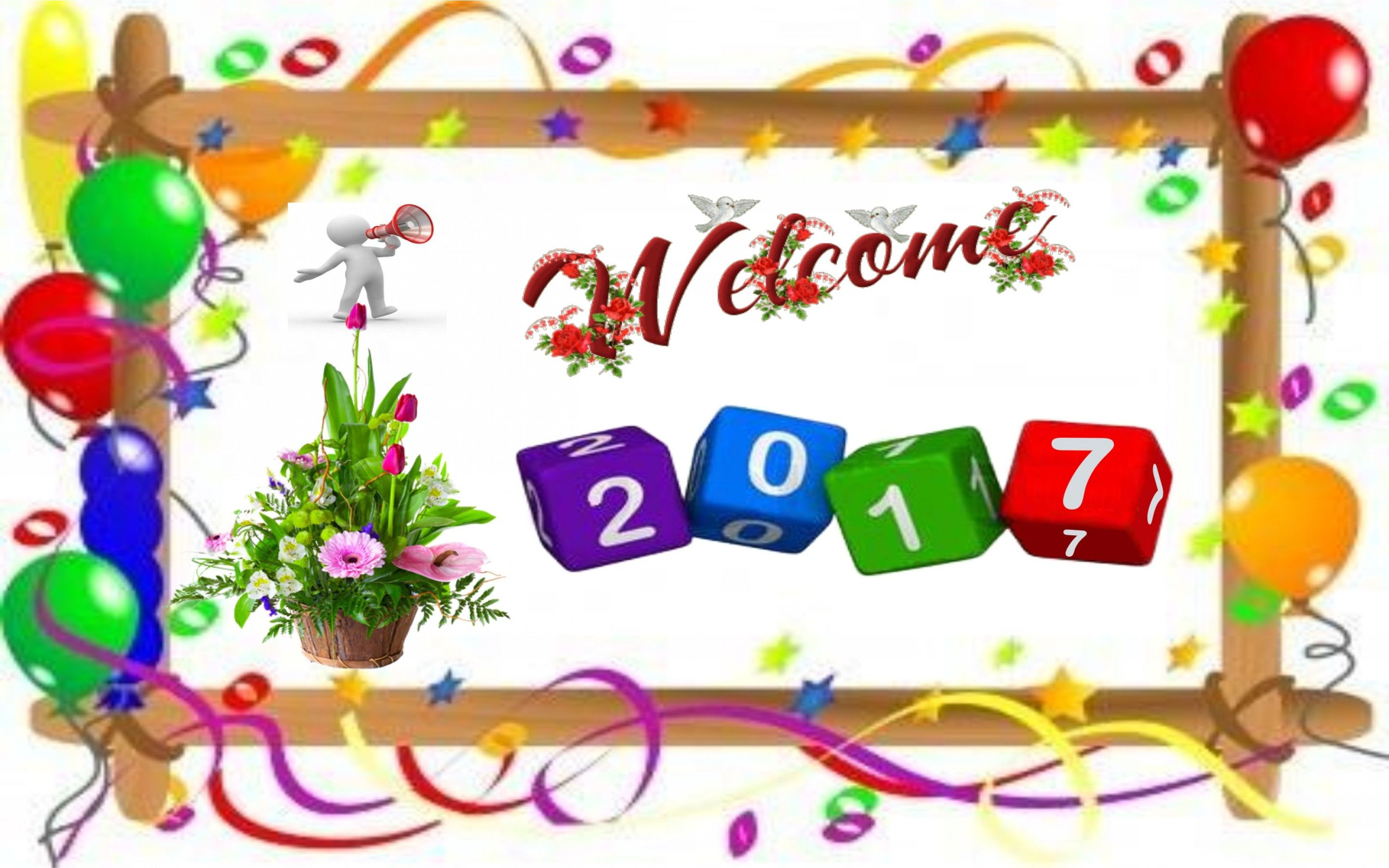 Wallpaper download new year - Just Download Free Happy New Year 2017 Wishes All The Wishes Are Unique And With The Beautiful Picture Concept You Can Send It To You Friends And