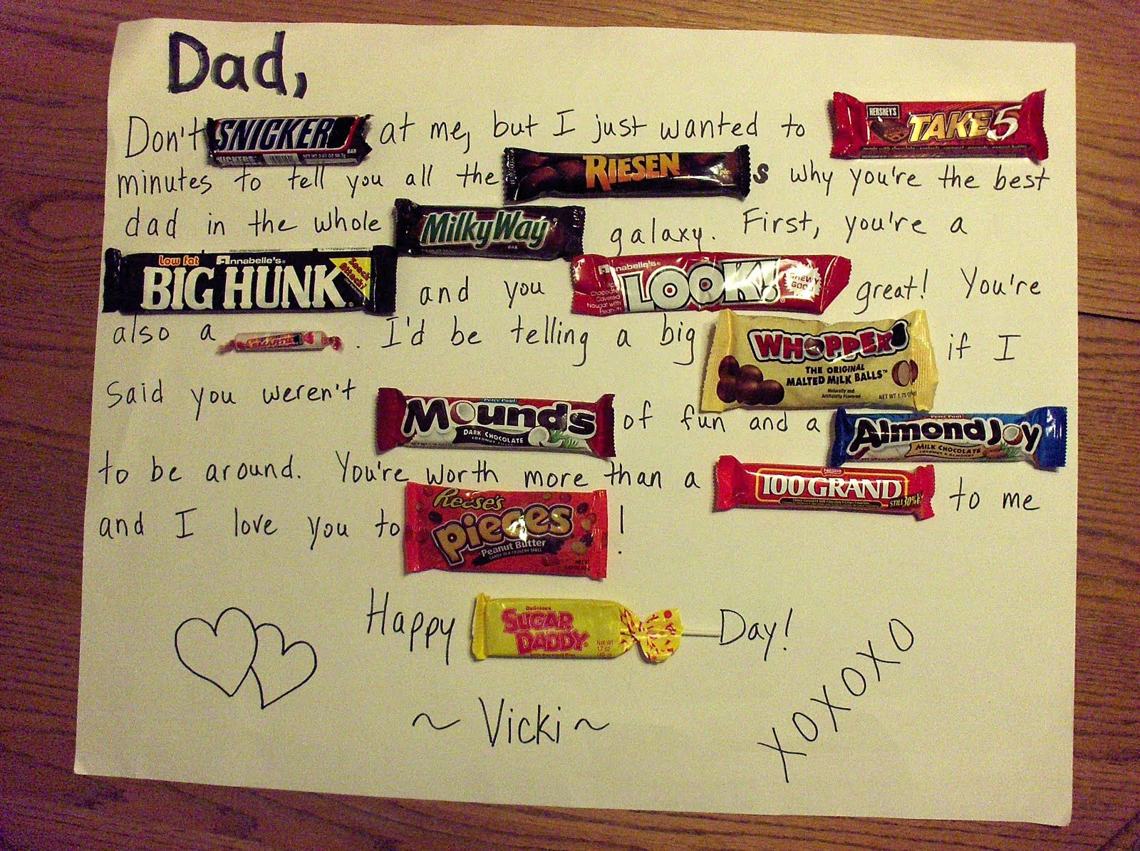 Father S Day Candy Bar Card Handmade Cards For Boyfriend Fathers Day Poster Father S Day Diy
