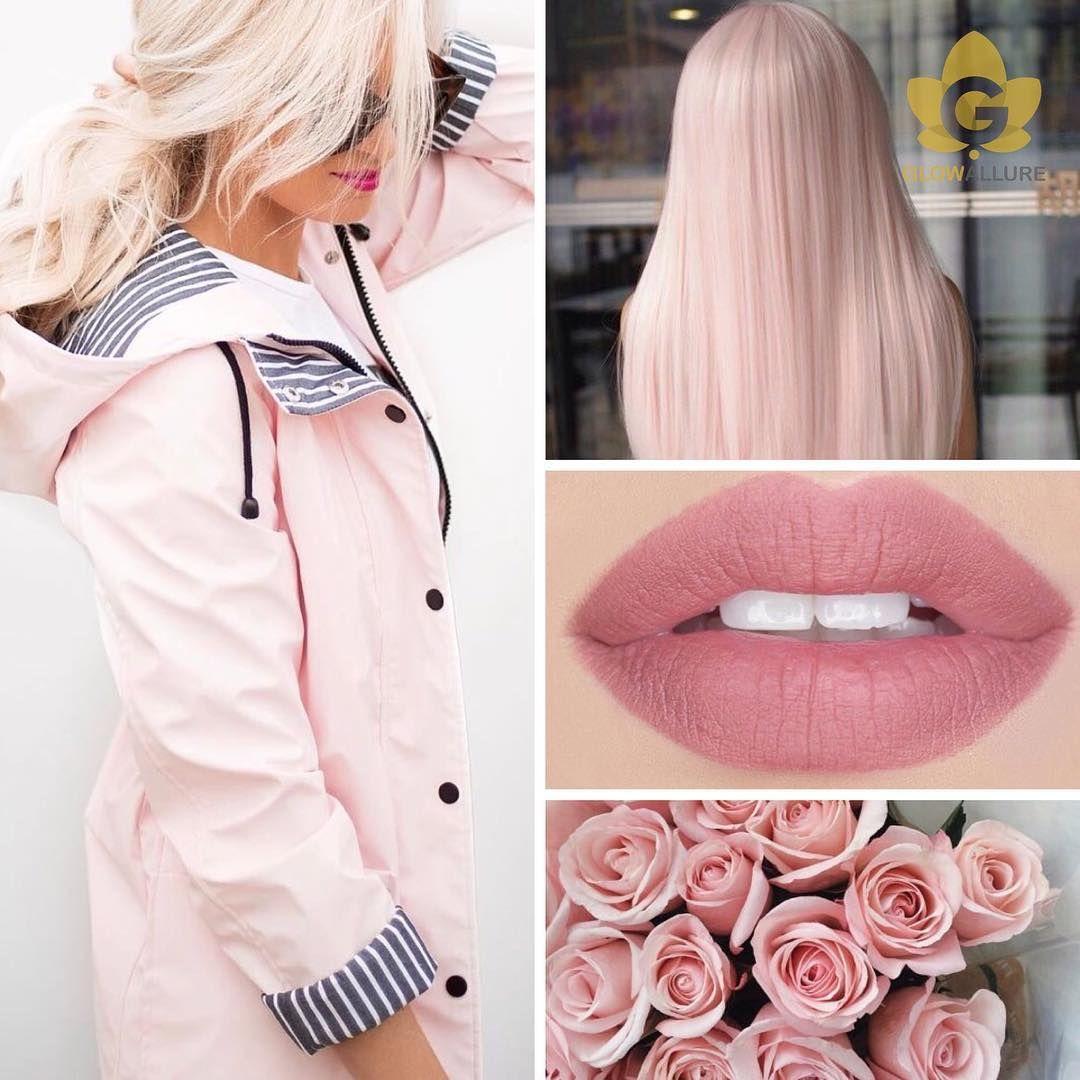 Light Pink Hair Aesthetic