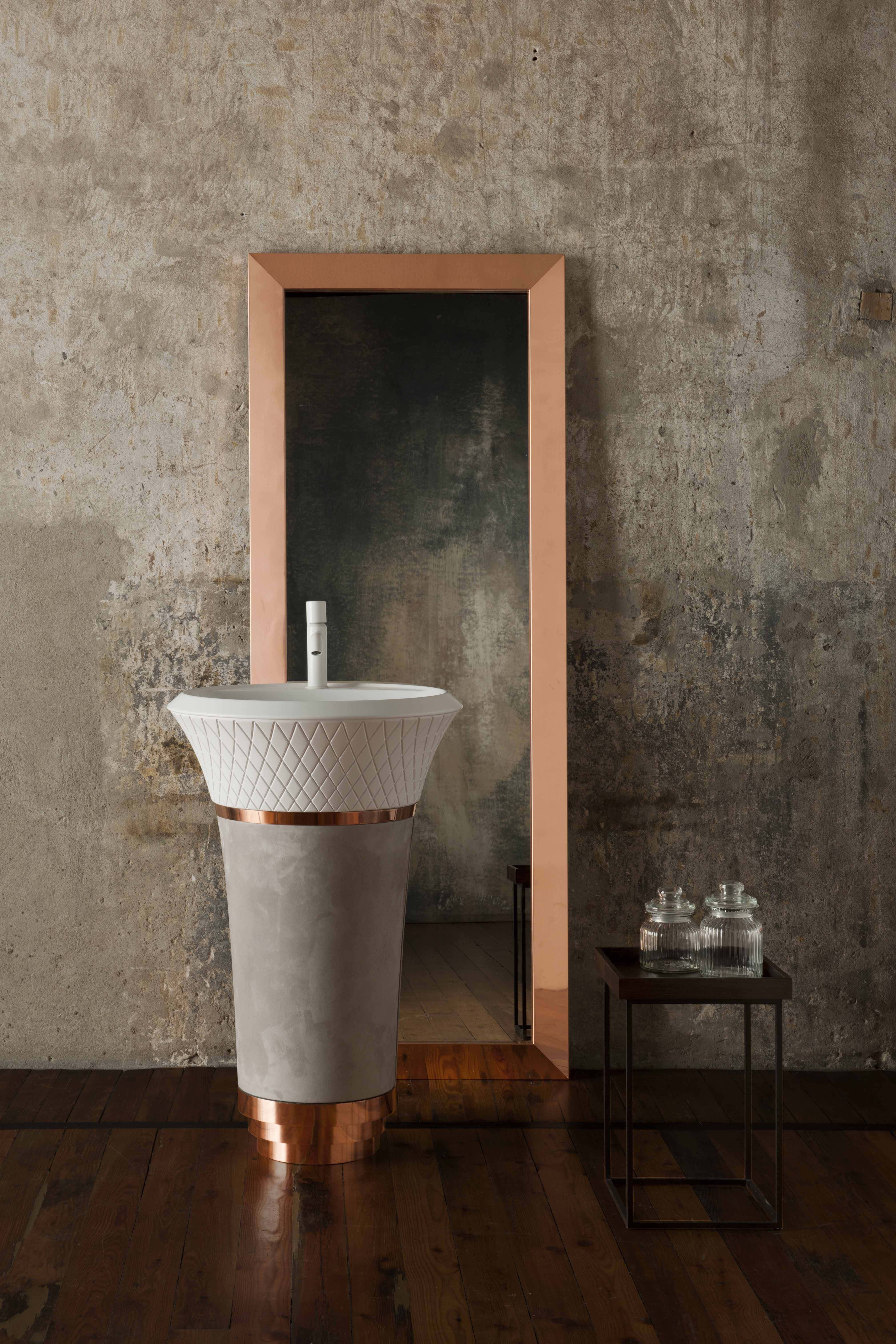 George, skulpturaler Waschtisch für Falper - Progetta il tuo #bagno ...