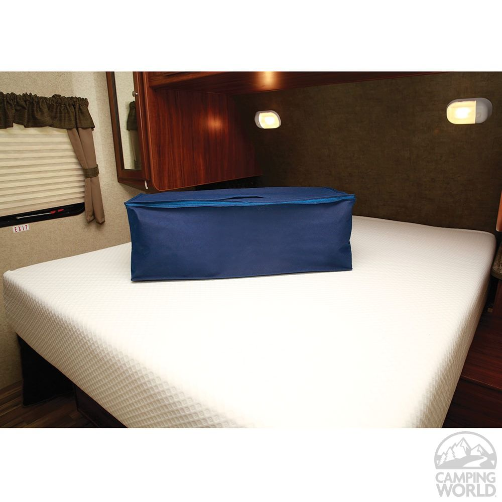 Short Queen Bed Extender | RV Upgrades | Bed extender, Rv mattress
