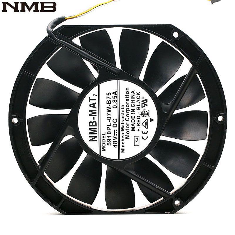 Nmb 5910pl 07w B75 17025 17cm 170mm Dc 48v 0 85a Slim Industrial